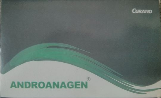 Androanagen Hair Regrowth Supplement Multi Vitamins Saw